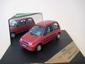 Fiat Cinquecento SX 1996 mETALLIC bORDEAUX 1/43