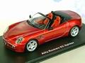 Alfa Romeo BC Spider metallic red rood Cabrio  1/43