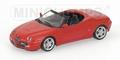 Alfa Romeo Spider Red Rood Cabrio 1/43