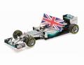 Mercedes AMG Petronas L,Hamilton Abu Dhabi 2014  F1 1/18