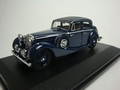 Jaguar  SS Dark Blue 1/43