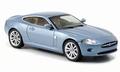 Jaguar XK Coupe 2005 Metallic Light Blue  Licht Blauw 1/43