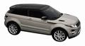 Range Rover Evoque 2011 Silver-Gold Zilver-Goud 1/43
