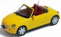 Daihatsu Copen Cabrio Yellow Geel  1/43