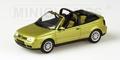 VW Volkswagen Golf Cabriolet 1999 Yellow Metallic Geel 1/43