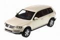 VW Volkswagen Touareg 2003 White Wit 1/43