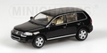 VW Volkswagen 2002 Toareg Black Magic Zwart 1/43