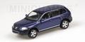 VW Volkswagen Toareg 2002 Blue Blauw 1/43