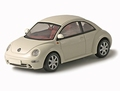 VW Volkswagen New Beelte White Wit 1/43