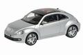 VW Volkswagen Beetle Reflex silver Zilver 1/43