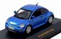 VW Volkswagen New Betle 2002 Blue Blauw  1/43