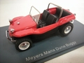 VW Volkswagen Meyers Manx Dune Buggy Red  Rood 1/43