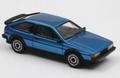 VW Volkswagen Scirocco ll  GTX  Blue Blauw 1/43