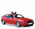 VW Volkswagen Corrado Red Rood  Noodarts 1/43