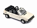 VW Volkswagen Cabriolet 1981 Wit White + extra softtop 1/43