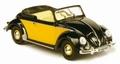VW Volkswagen Hebmuller 1949 Zwart Geel   Black Yellow 1/43