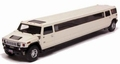 Hummer Limousine Wit White  1/43