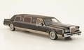 Ford Lincoln Town Car Limousine Zwart 1/43