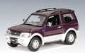 Mitsubishi Pajero 1999 Purple  Paars  1/43