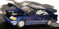 Mercedes Benz  E-Class Coupe  1994 Blue  Blauw 1/43
