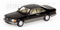 Mercedes Benz 560 SEC  1986 Black  Zwart 1/43
