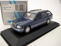 Mercedes E - Class Break metallic Blue Blauw  1/43