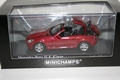 Mercedes Benz SLK 2004 Red Metallic Rood opening roof 1/43