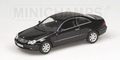 Mercedes Benz CLK Coupe 2002 Black Zwart 1/43