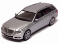 Mercedes Benz E - Klasse T model Indium silver zilver 1/43
