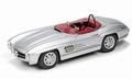 Mercedes Benz300 SLS Cabrio Silver Zilver 1/43