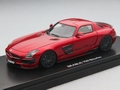 Mercedes SLS Brabus 700 Biturbo Red  Rood 1/43