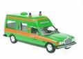 Mercedes Benz W 123  300 D Ambulance Green  Groen 1/43