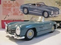 Mercedes Benz  300 SL Cabrio Blue Blauw Roadster open top 1/43