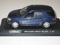 Mercedes  Benz ML 350 Blue  Blauw  1/43