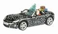Opel GT Christmas Edition 2009 Kerstmis + Figuur  1/43