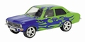 Opel Ascona A Tunnig Car  Green + Blue Flames 1/43