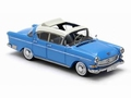 Opel Kapitan 2,5 L Blue White  Blauw wit 1/43