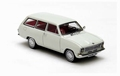 Opel Kadett B Caravan White  Wit 1/43