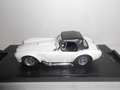 Shelby Cobra Cabrio + soft top White Wit 1/43