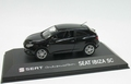 Seat Ibiza SC Sport coupe Black Zwart  1/43