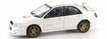Subaru Impreza WRX STi White Wit 2003 1/43