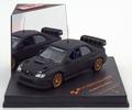 Subaru Impreza WRC07  Flat Black Mat Zwart 1/43