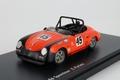 Porsche 356 Speedster E,Parlett # 45 Orange Oranje 1/43