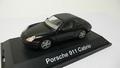 Porsche 911 Cabrio Black  Zwart + soft top 1/43