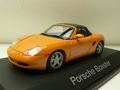 Porsche Boxter Cabrio + Soft top  Orange Oranje  1/43