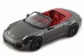 Porsche 911 Carrera GTS Cabrio dark grey  Donker grijs 1/43