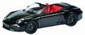 Porsche 911 Carrera 4  GTS Cabrio Black Zwart 1/43