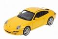 Porsche 911  (997 ) Carrera S Yellow  Geel 1/43