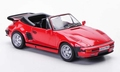 Porsche Carrera Cabriolet 1989 Red Rood 1/43