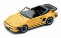 Porsche 911 Carrera Flat nose Cabrio 1989 Yellow Geel  1/43